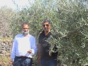 Daniele Miccione (a sinistra) con Pasquale Romano